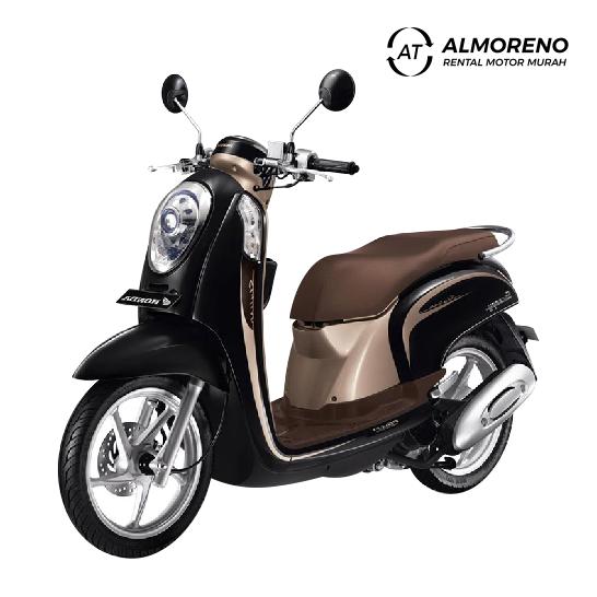 almoreno rental motor jogja murah_gambar motor Honda Scoopy 110 cc