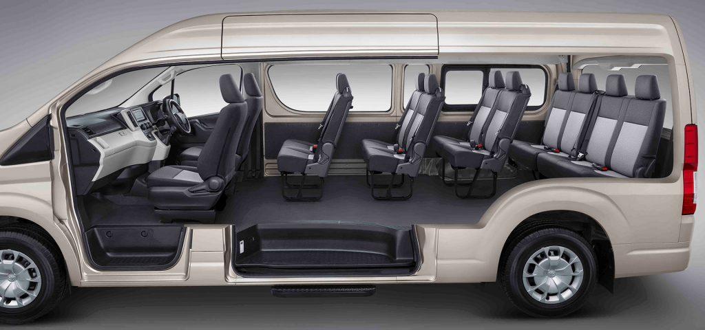 Kapasitas Hiace, sumber Toyota Astra Motor